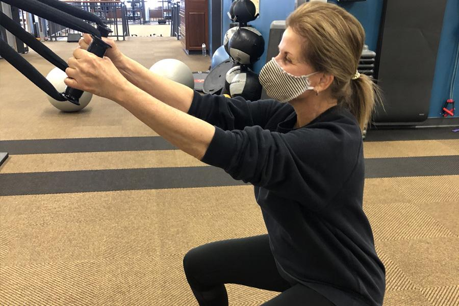 """I started training with Medgar three weeks ago, and at first I was hesitant about if I could succeed. He has been an inspiration to me and keeping me very positive! I already feel results. The facility is a great place to workout! It is very clean with everyone doing their part to keep it sanitized, and everyone wears masks! I feel comfortable about exercising/training here!"" Sandra D."